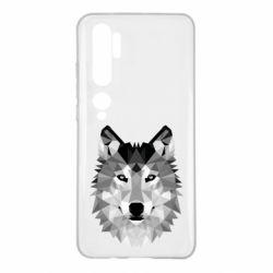 Чохол для Xiaomi Mi Note 10 Wolf Art
