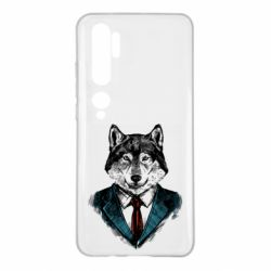 Чехол для Xiaomi Mi Note 10 Wolf in costume
