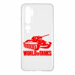 Чехол для Xiaomi Mi Note 10 World Of Tanks Game