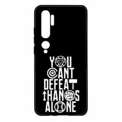 Чехол для Xiaomi Mi Note 10 You can't defeat thanos alone