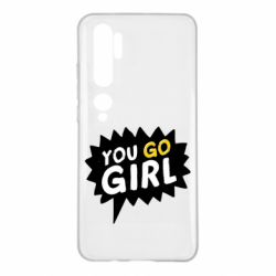 Чехол для Xiaomi Mi Note 10 You go girl