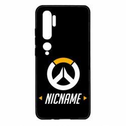 Чехол для Xiaomi Mi Note 10 Your Nickname Overwatch