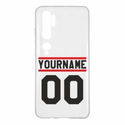 Чохол для Xiaomi Mi Note 10 Yourname USA