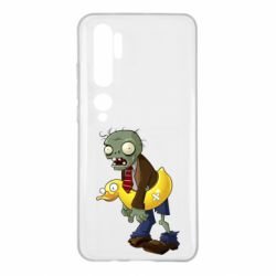 Чехол для Xiaomi Mi Note 10 Zombie with a duck