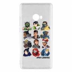 Чохол для Xiaomi Mi Note 2 Apex legends heroes
