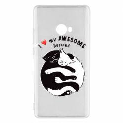 Чехол для Xiaomi Mi Note 2 Cats and love