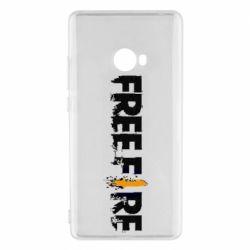 Чехол для Xiaomi Mi Note 2 Free Fire spray