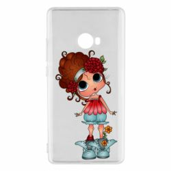 Чехол для Xiaomi Mi Note 2 Girl with big eyes