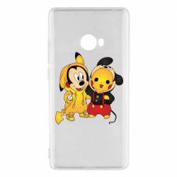 Чехол для Xiaomi Mi Note 2 Mickey and Pikachu