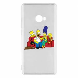 Чехол для Xiaomi Mi Note 2 Simpsons At Home