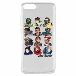 Чохол для Xiaomi Mi Note 3 Apex legends heroes