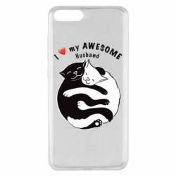Чехол для Xiaomi Mi Note 3 Cats and love