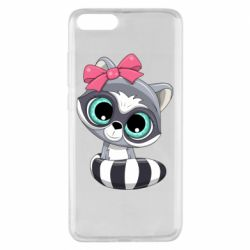 Чехол для Xiaomi Mi Note 3 Cute raccoon