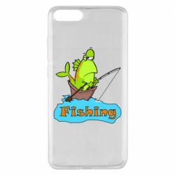 Чехол для Xiaomi Mi Note 3 Fish Fishing