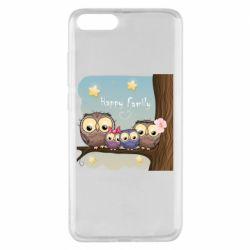 Чехол для Xiaomi Mi Note 3 Happy family