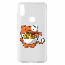 Чохол для Xiaomi Mi Play Cat and Ramen