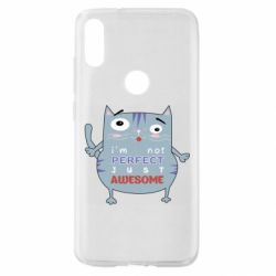 Чехол для Xiaomi Mi Play Cute cat and text