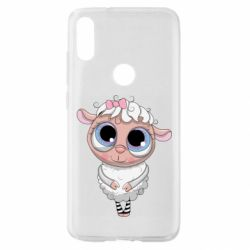 Чехол для Xiaomi Mi Play Cute lamb with big eyes