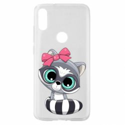 Чехол для Xiaomi Mi Play Cute raccoon