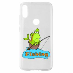 Чехол для Xiaomi Mi Play Fish Fishing