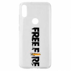 Чехол для Xiaomi Mi Play Free Fire spray