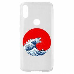 Чохол для Xiaomi Mi Play Godzilla Wave