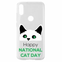 Чехол для Xiaomi Mi Play Happy National Cat Day