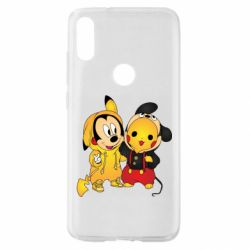 Чехол для Xiaomi Mi Play Mickey and Pikachu