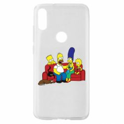 Чехол для Xiaomi Mi Play Simpsons At Home