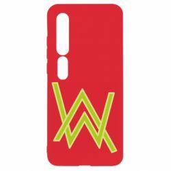 Чехол для Xiaomi Mi10/10 Pro Alan Walker neon logo