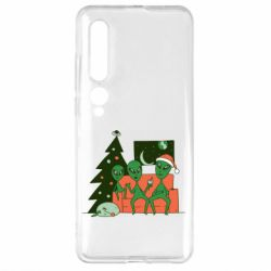 Чехол для Xiaomi Mi10/10 Pro Alien and Christmas tree