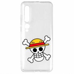 Чехол для Xiaomi Mi10/10 Pro Anime logo One Piece skull pirate