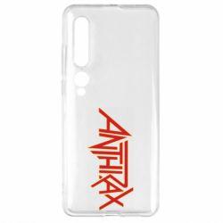 Чехол для Xiaomi Mi10/10 Pro Anthrax red logo