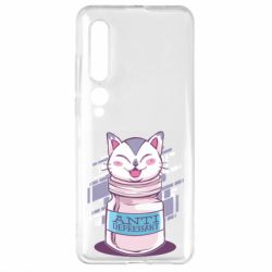Чехол для Xiaomi Mi10/10 Pro AntiDepressant Cat