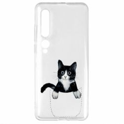 Чехол для Xiaomi Mi10/10 Pro Art cat in your pocket