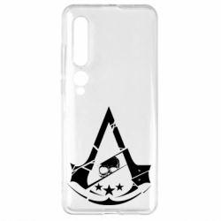 Чехол для Xiaomi Mi10/10 Pro Assassin's Creed and skull 1