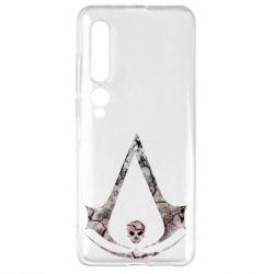 Чехол для Xiaomi Mi10/10 Pro Assassins Creed and skull