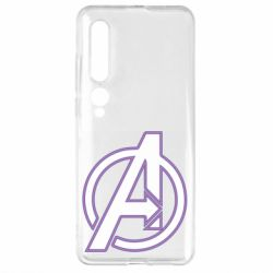 Чехол для Xiaomi Mi10/10 Pro Avengers and simple logo