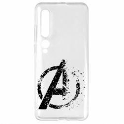 Чехол для Xiaomi Mi10/10 Pro Avengers logotype destruction