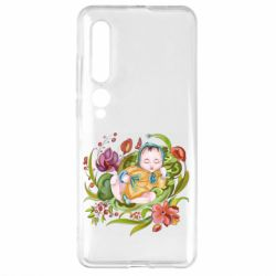 Чехол для Xiaomi Mi10/10 Pro Baby and flowers
