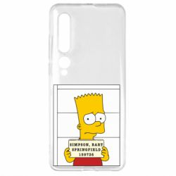 Чехол для Xiaomi Mi10/10 Pro Барт в тюряге