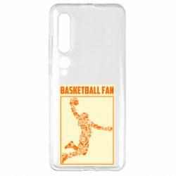 Чехол для Xiaomi Mi10/10 Pro Basketball fan