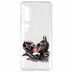 Чехол для Xiaomi Mi10/10 Pro Batman and Catwoman Kiss