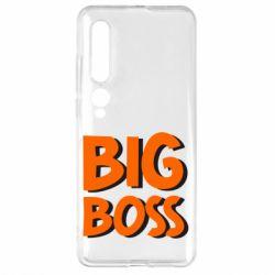 Чехол для Xiaomi Mi10/10 Pro Big Boss