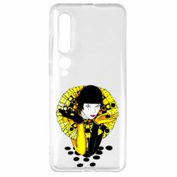 Чехол для Xiaomi Mi10/10 Pro Black and yellow clown