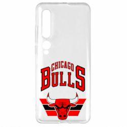 Чехол для Xiaomi Mi10/10 Pro Большой логотип Chicago Bulls