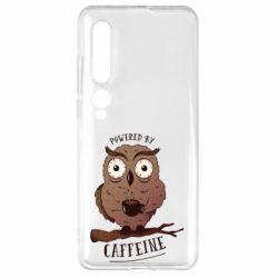 Чехол для Xiaomi Mi10/10 Pro Caffeine Owl