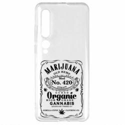 Чехол для Xiaomi Mi10/10 Pro Cannabis label