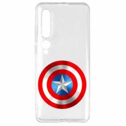 Чехол для Xiaomi Mi10/10 Pro Captain America 3D Shield