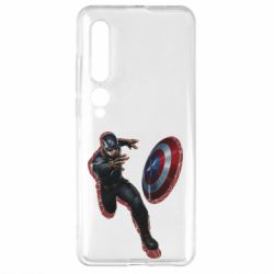 Чехол для Xiaomi Mi10/10 Pro Captain america with red shadow